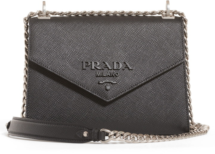 18f573422d90 Prada Saffiano Leather Handbags - ShopStyle