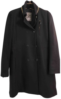 Fay Blue Wool Coat for Women