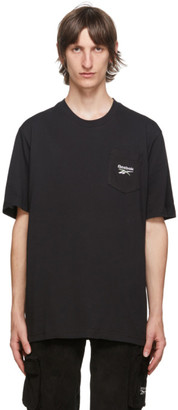 Reebok Classics Black Classic Pocket T-Shirt