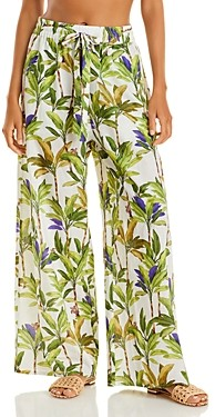 Vilebrequin Palms Printed Cover Up Pants