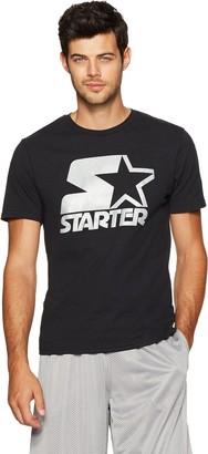 Starter Men's Short Sleeve Logo T-Shirt Amazon Exclusive