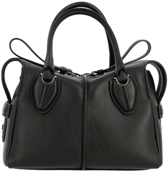 Tod's Small D Bag In Leather With Shoulder Strap