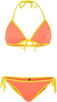 Laura Urbinati Two-Tone String Bikini Set