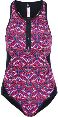 Tart Collections Hadley Cutout Printed Swimsuit