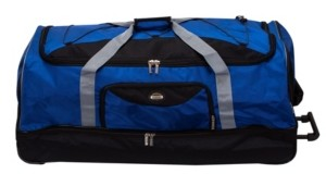 "Rockland 40"" Check-In Rolling Duffle Bag"