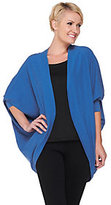 As Is Layers by Lizden Cotton Tri-Blend Cocoon Cardigan