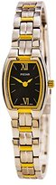 Pulsar Women's PEGE66 Dress Black Dial Watch