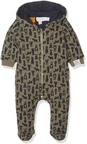 Pumpkin Patch Baby Boys 0-24m Bear Print Padded All in One Footies