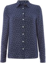 Gant Shirt With Small Donegal Flower Print