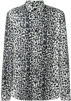 Saint Laurent animalier printed shirt - men - Viscose - 39