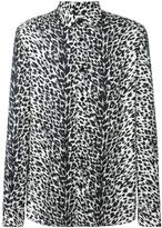 Saint Laurent animalier printed shirt