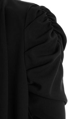 Quiz CurvePuff Waterfall Blazer - Black