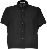 Jil Sander Black Wool Neiva Shirt