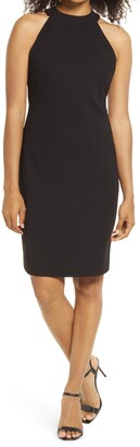 Sam Edelman Halter Sheath Dress