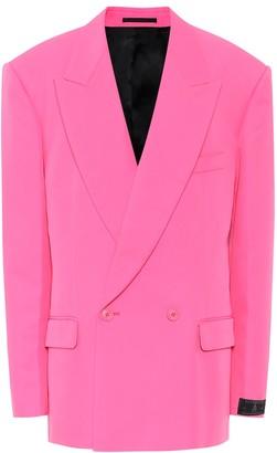 Vetements Oversized twill blazer
