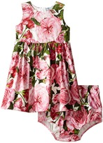Dolce & Gabbana Pink Rose Dress Girl's Dress