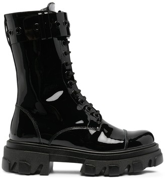 Amen Lug-Sole Military Boots