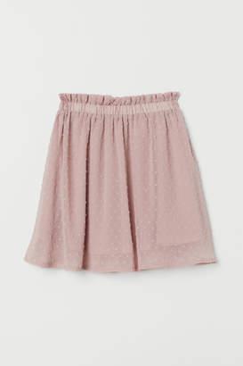 H&M Short chiffon skirt