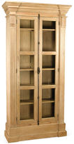 AA Importing Carola 95 2-Door Bookcase. Natural