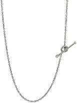 Cathy Waterman 18 Inch Fine Platinum Chain Necklace