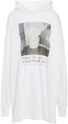 MM6 MAISON MARGIELA Oversized Printed Cotton-jersey Hoodie