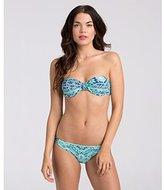 Billabong Women's Beach Bustier Print Bikini Top