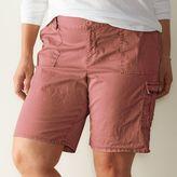 Plus Size SONOMA Goods for LifeTM Cargo Bermuda Shorts