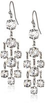 "Swarovski 1928 Jewelry ""Signature Crystal"" Genuine Crystal Drop Earrings"