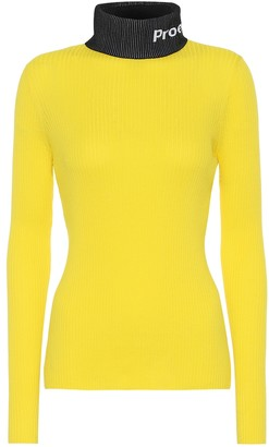 Proenza Schouler PSWL cotton turtleneck sweater