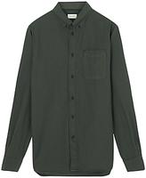 Jigsaw Dye Bound Edge Oxford Shirt