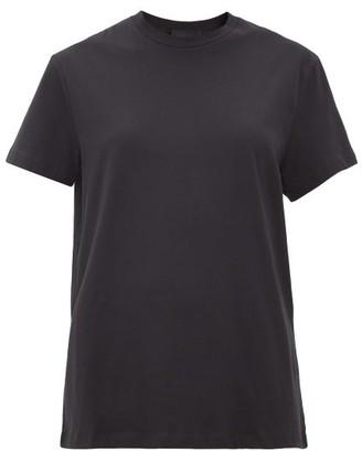 Wardrobe NYC Release 06 Round-neck Cotton-jersey T-shirt - Black