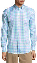 ST. JOHN'S BAY Long Sleeve Slim Fit Performance Button-Front Shirt