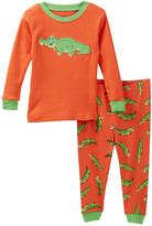 Leveret Alligator Pajama Set (Baby, Toddler, Little Boys, & Big Boys)