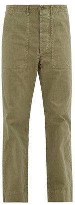 Ralph Lauren RRL Cotton-twill Cargo Trousers - Mens - Green Multi