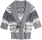 Nordic Gigi Toggle Cardi Sweater