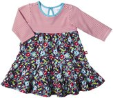 Zutano Oopsie Daisy Dress (Baby)-Navy-9 Months