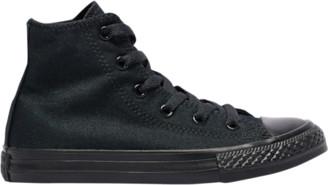 Converse Hi Basketball Shoes - Black Monochrome / White