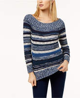 INC International Concepts I.N.C. Off-The-Shoulder Sweater, Created for Macy's