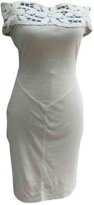 Chiara Boni Beige Cotton Dress for Women Vintage
