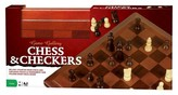 Cardinal Deluxe Staunton Wood Tournament Size Chess & Checkers Board Game Set