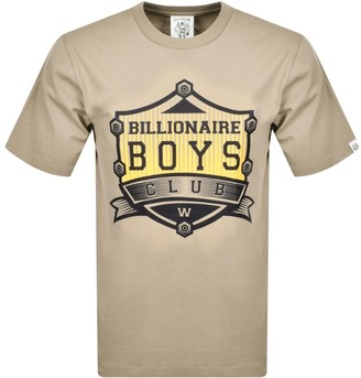 Billionaire Boys Club Logo T Shirt Beige