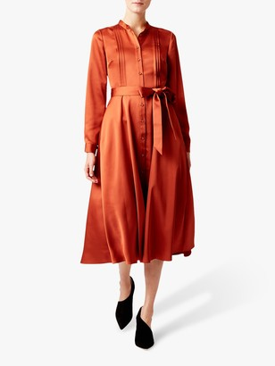 Hobbs Thandi Dress, Copper