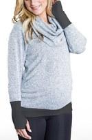 Cozy Orange Women's 'Phoebe' Cowl Neck Maternity Sweater