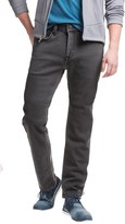 Agave Denim No. 12 Athletic Fit Straight-Leg Jeans - Terry Tech Gray (For Men)