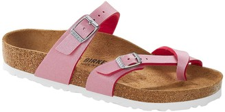 Birkenstock Mayari Flat Sandals - Fuchsia