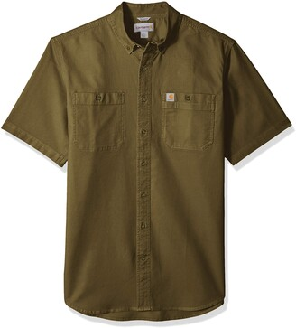 Carhartt Rugged Flex Rigby Short Sleeve Work Shirt (Regular and Big & Tall Sizes)