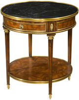 Theodore Alexander Formalities Side Table, Amber
