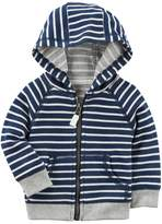 Carter's Baby Boy Striped French Terry Zip Cardigan