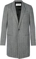 Saint Laurent Chesterfield peak lapel coat
