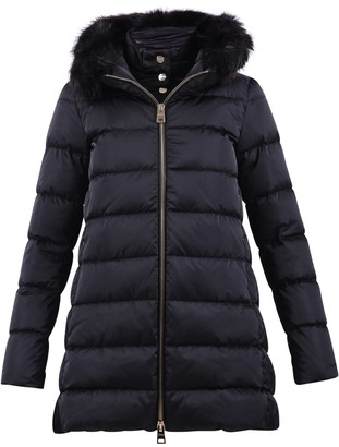 Herno Fur Trim Hooded Down Coat
